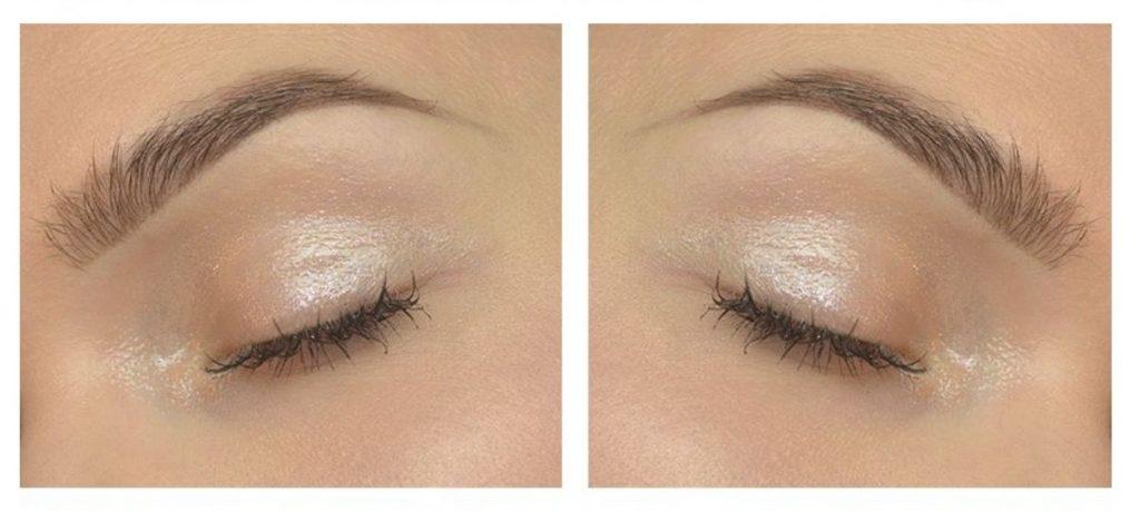 SHADOW: sourcils poudrés naturels.